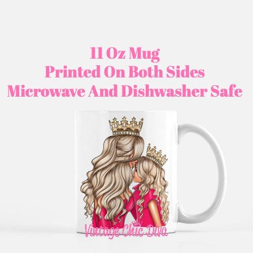 Mom Daughter Set1 Coffee Mug-