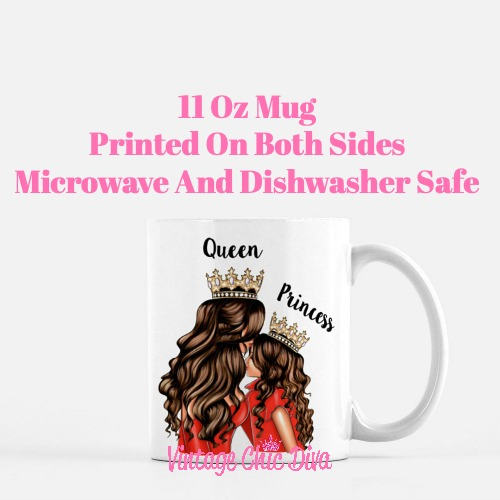 Mom Daughter Set22 Coffee Mug-