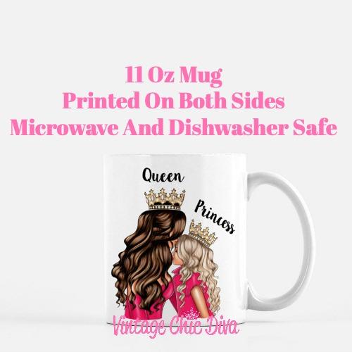 Mom Daughter Set23 Coffee Mug-