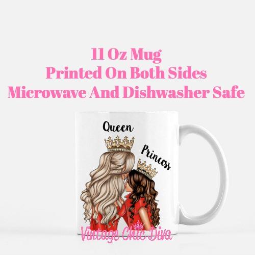 Mom Daughter Set25 Coffee Mug-