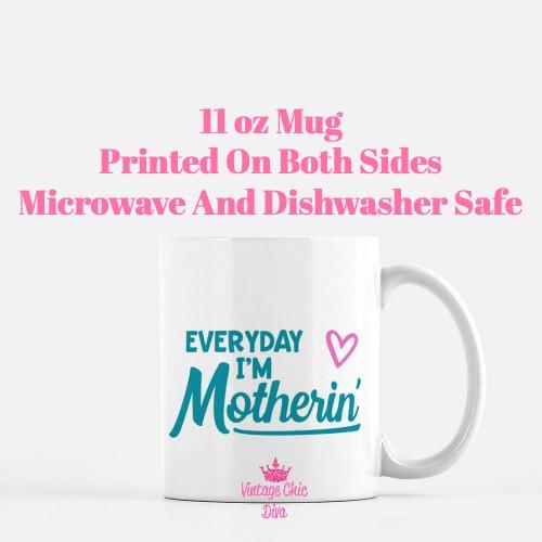 Mom Quote8 Coffee Mug-