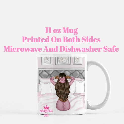Morning Fashion Girl4 Coffee Mug-