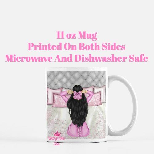 Morning Fashion Girl5 Coffee Mug-