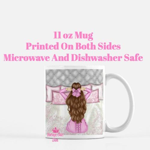Morning Fashion Girl6 Coffee Mug-