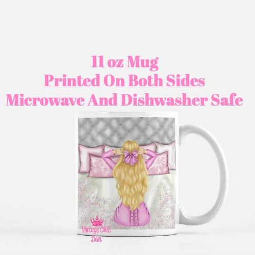 Morning Fashion Girl7 Coffee Mug-