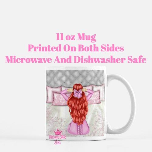 Morning Fashion Girl8 Coffee Mug-