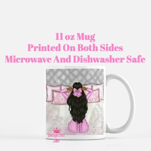 Morning Fashion Girl9 Coffee Mug-