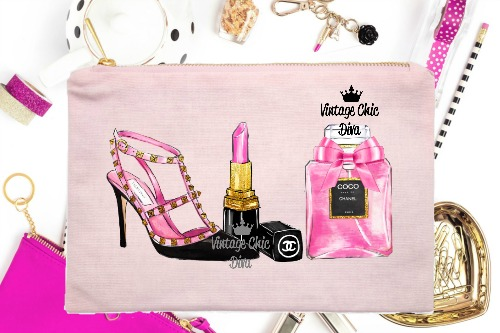 Paris Fashion Beauty Set1 Pink-