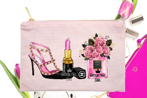 Paris Fashion Beauty Set2 Pink-
