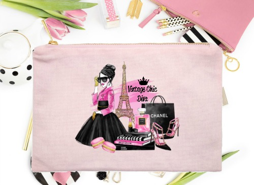Paris Fashion Girl Pink Set Pink-
