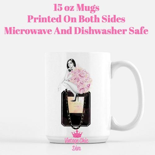 Paris Friday Girl2 Coffee Mug-