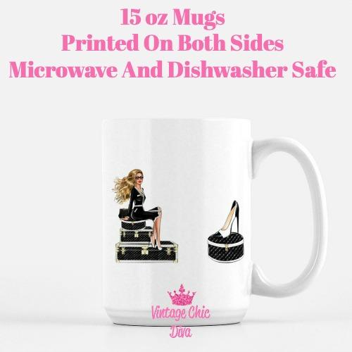Paris Girls14 Coffee Mug-