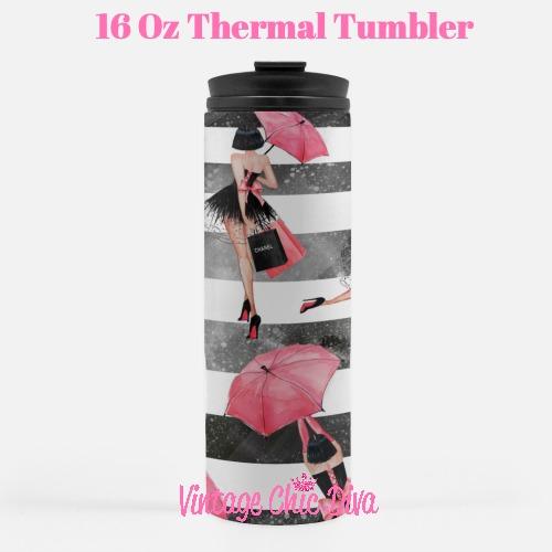 Paris Girly10 Tumbler-
