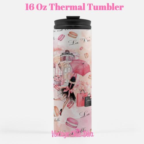 Paris Girly11 Tumbler-