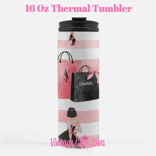 Paris Girly12 Tumbler-