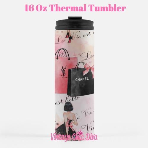 Paris Girly14 Tumbler-