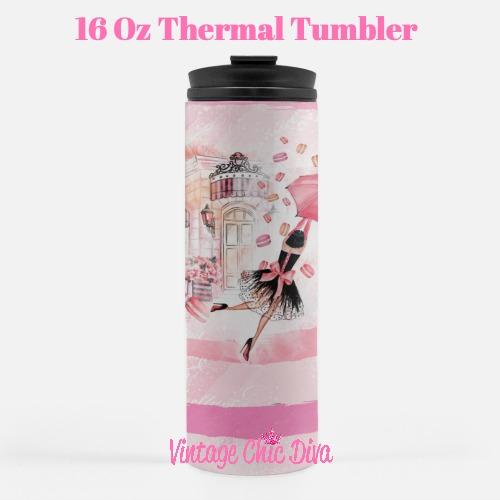 Paris Girly1 Tumbler-