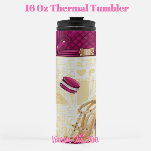 Paris Girly20 Tumbler-