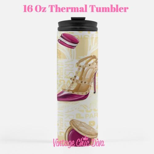 Paris Girly21 Tumbler-