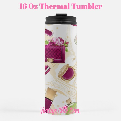 Paris Girly24 Tumbler-