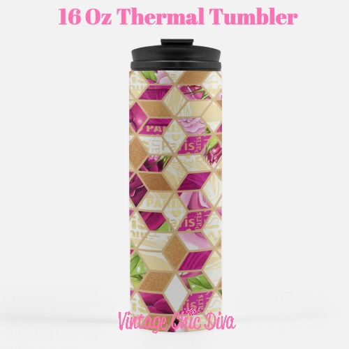 Paris Girly25 Tumbler-