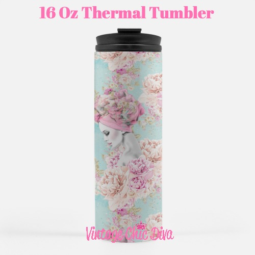 Paris Girly32 Tumbler-
