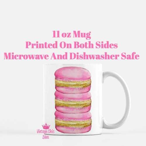 Paris Pink Macarons1 Coffee Mug-
