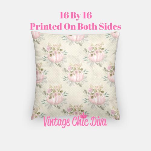 Pastel Pumpkins16 Pillow Case-