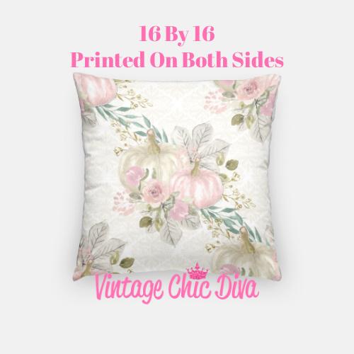 Pastel Pumpkins18 Pillow Case-
