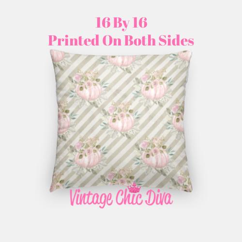 Pastel Pumpkins22 Pillow Case-