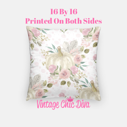 Pastel Pumpkins24 Pillow Case-
