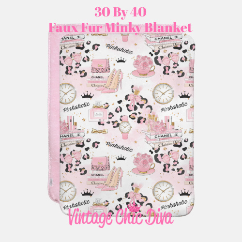 Pinkaholic10 Blanket-