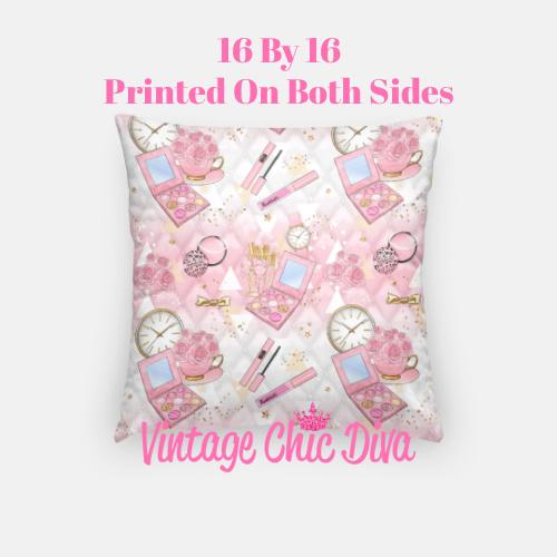 Pinkaholic11 Pillow Case-