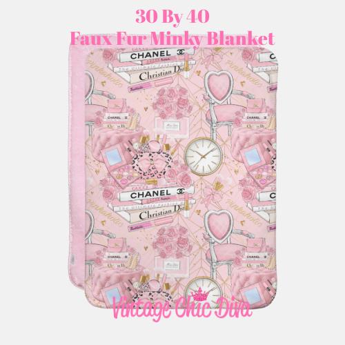 Pinkaholic14 Blanket-