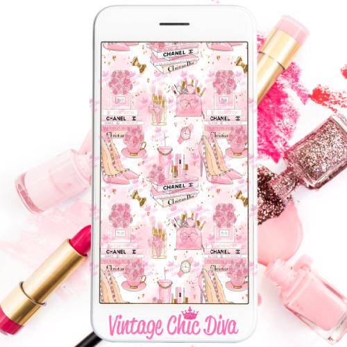 Pinkaholic17 Phone Wallpaper-
