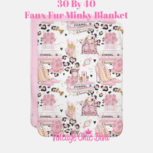 Pinkaholic1 Blanket-