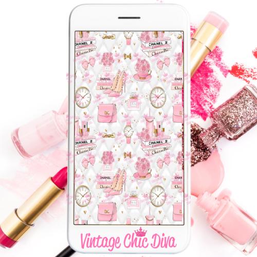 Pinkaholic20 Phone Wallpaper-