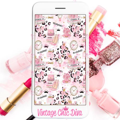 Pinkaholic25 Phone Wallpaper-