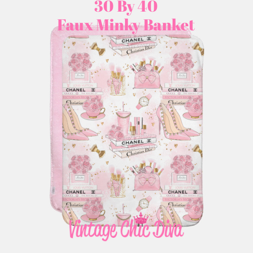 Pinkaholic2 Blanket-