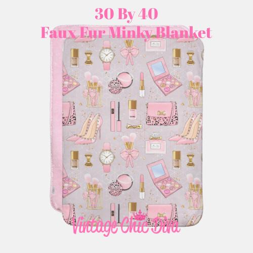 Pinkaholic3 Blanket-