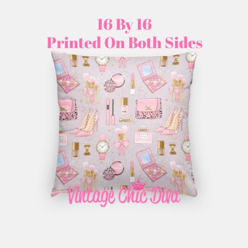 Pinkaholic3 Pillow Case-