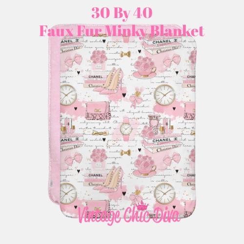 Pinkaholic4 Blanket-