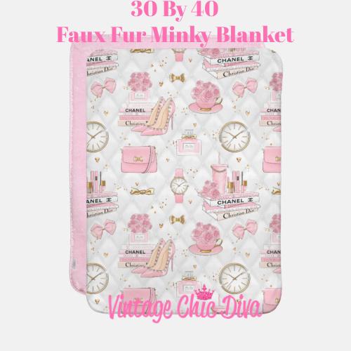 Pinkaholic5 Blanket-