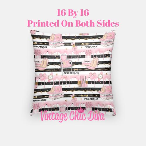 Pinkaholic6 Pillow Case-