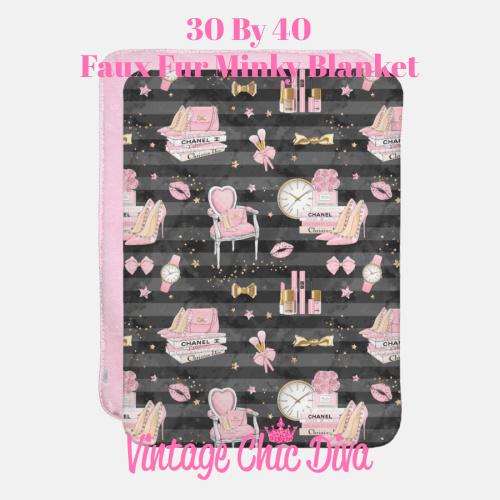 Pinkaholic7 Blanket-