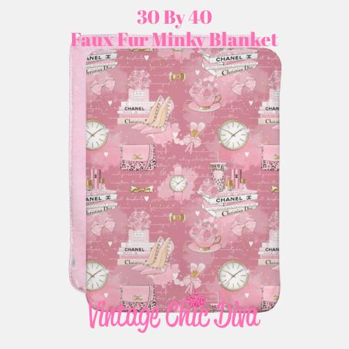 Pinkaholic8 Blanket-