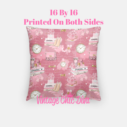 Pinkaholic8 Pillow Case-