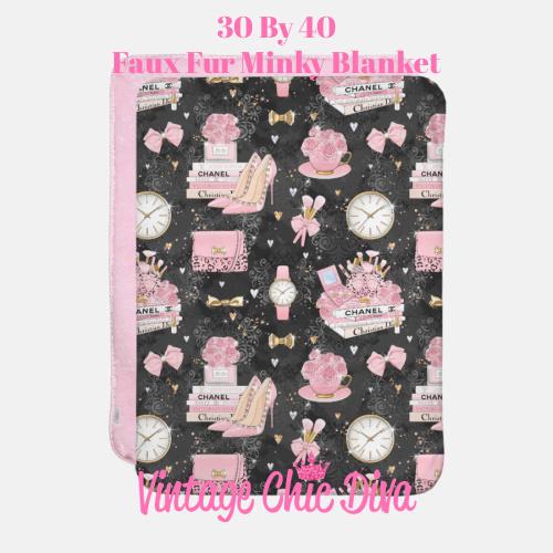 Pinkaholic9 Blanket-