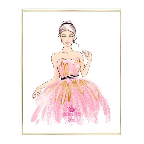 Pinkaholic Glam Girl1 Wh Bg-