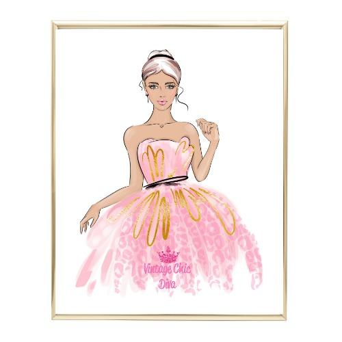 Pinkaholic Glam Girl2 Wh Bg-